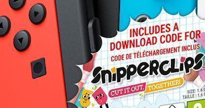 Snipperclips - Cut it out, together! lanseres til Nintendo Switch den 3. mars!