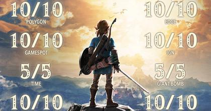 Nintendo Switch og The Legend of Zelda: Breath of the Wild setter nye rekorder i Europa!
