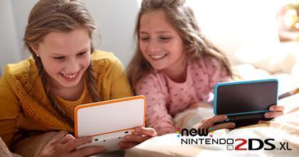 New Nintendo 2DS XL lanseres 28. juli!