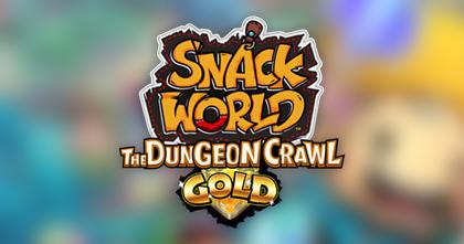 SNACK WORLD: THE DUNGEON CRAWL — GOLD lanseres 14. februar
