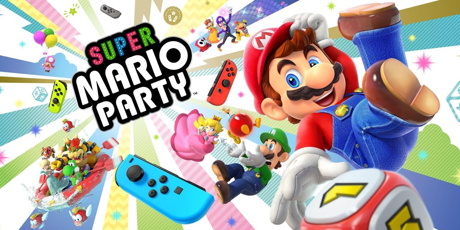 Spill Super Mario Party med venner over internett!