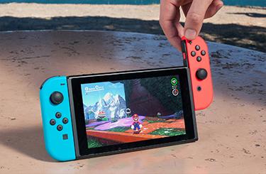 Nintendo Switch-støtte