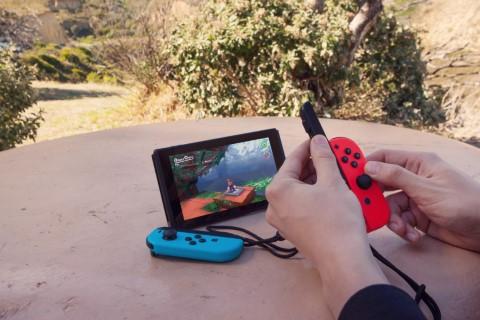 Nintendo Switch er håndholdt