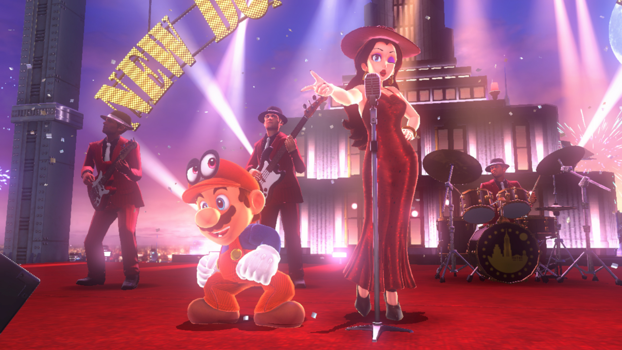 Super Mario Odyssey New Donk City Stage